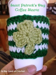 St Patricks Day Coffee Sleeve